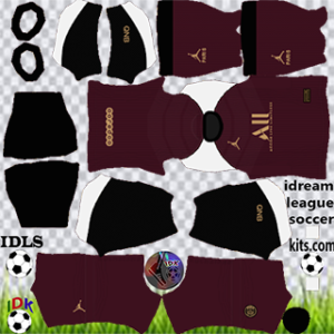 PSG kit dls 2021 third