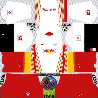 RB Leipzig DLS Kits 2021 - Dream League Soccer 2021 Kits & Logo