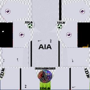 Tottenham Hotspur gk third kit 2021 dls 2019