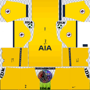 Tottenham Hotspur third kit 2021 dls 2019