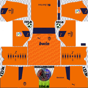 Valencia dls away kit 2021