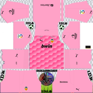 Valencia dls gk away kit 2021