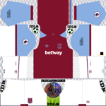 West Ham United DLS Kits 2021 – DLS 2021 Kits and Logos