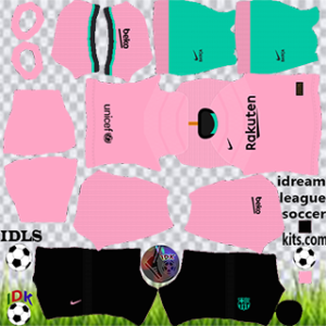 barcelona kit dls 2021 third