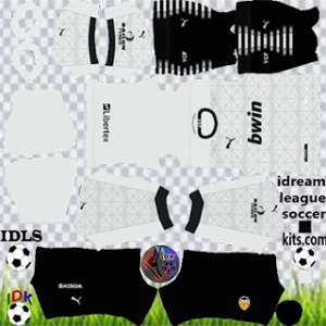 valencia cf kit dls 2021 home