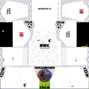 Augsburg FC DLS Kits Logo 2021