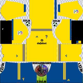 Cadiz CF DLS Kits 2021 - Dream League Soccer 2021 Kits & Logos