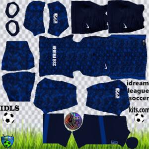 Hertha Berlin kit dls 2021 away