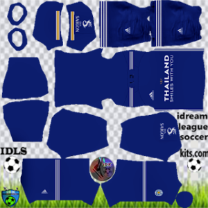 Leicester City kit dls 2021 home