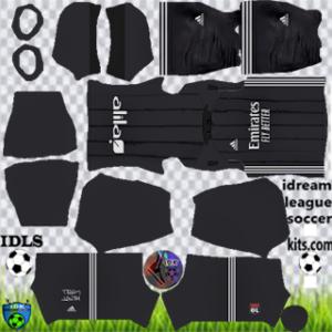 Olympique Lyonnais kit dls 2021 away