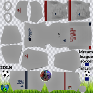Olympique Lyonnais kit dls 2021 home