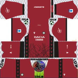 Udinese fc dls gk away kit 2021