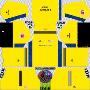 Union Berlin fc dls gk away kit 2021