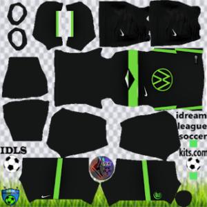 VFL Wlofsburg kit dls 2021 away