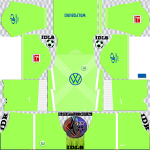 Wolfsburg FC DLS Kits Logo