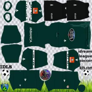 Deportivo de La Coruña kit dls 2021 away