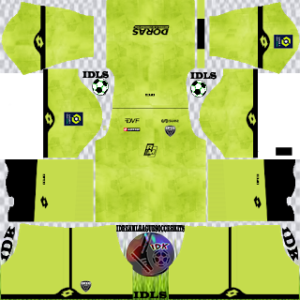 Dijon FC kit dls 2021 third