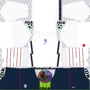 England DLS Kit 2021 Home For DLS19
