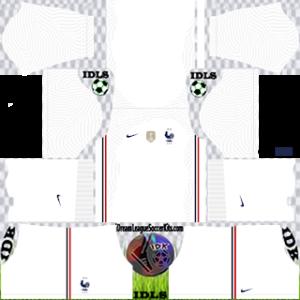 France DLS Kit 2021 away For DLS19