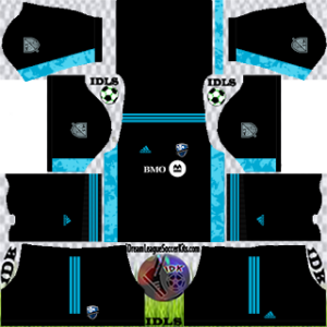 Montreal Impact DLS Kit 2021 gk away For DLS19