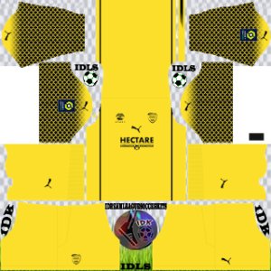 Nimes Olympique kit dls 2021 gk home