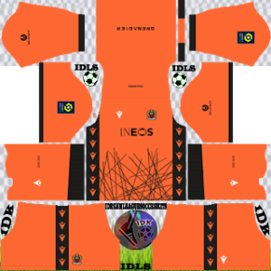 OGC Nice kit dls 2021 gk third