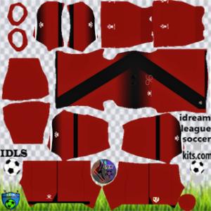 Rayo Vallecano kit dls 2021 third
