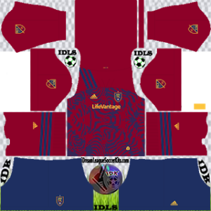 Real Salt Lake DLS Kit 2021 Home For DLS19