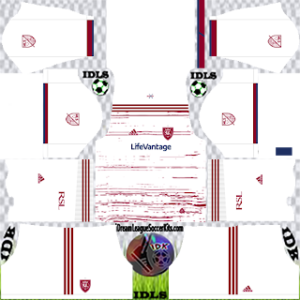 Real Salt Lake DLS Kit 2021 away For DLS19