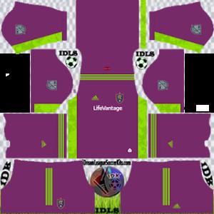 Real Salt Lake DLS Kit 2021 gk away For DLS19