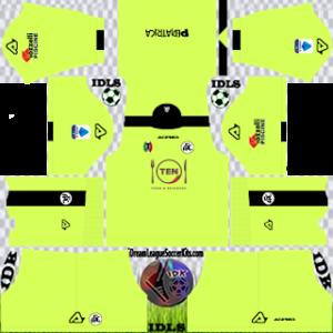 Spezia Calcio kit dls 2021 gk away