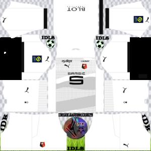 Stade Rennais kit dls 2021 away