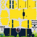 Sweden DLS Kits 2021 – Dream League Soccer 2021 Kits & Logos