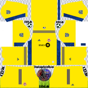Toronto FC DLS Kit 2021 gk away For DLS19