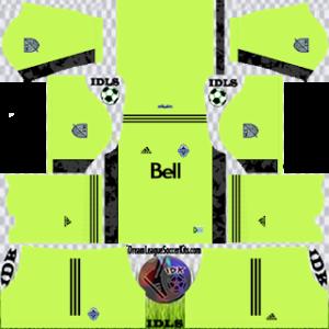 Vancouver Whitecaps kit dls 2021 third