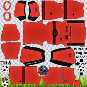 Cagliari kit dls 2021 gk away