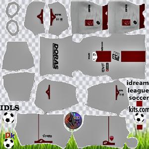 Dijon FC kit dls 2021-2022 away
