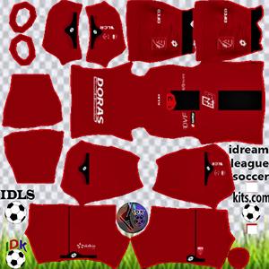 Dijon FC kit dls 2021-2022 home