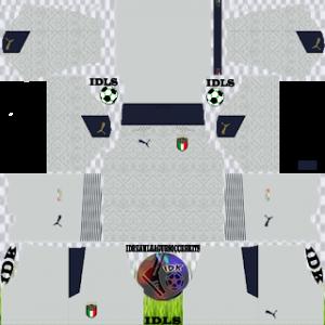 Italy DLS Kit 2021 gk away For DLS19