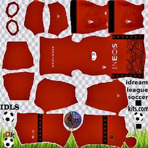 OGC Nice kit dls 2021-2022 away