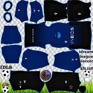 OGC Nice kit dls 2021-2022 third