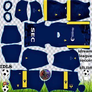 Verona fc kit dls 2021 home