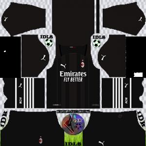 AC Milan dls kit 2022 gk away