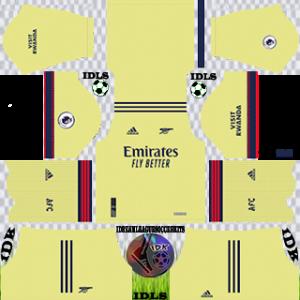 Arsenal dls kit 2022 away