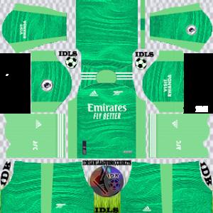 Arsenal dls kit 2022 gk away