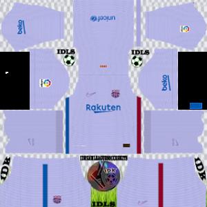 Barcelona dls kit 2022 away