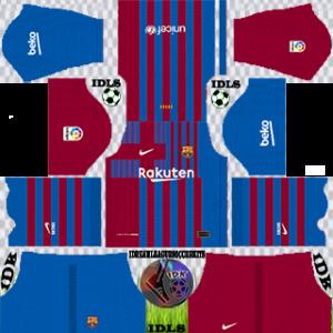 Barcelona dls kit 2022 home