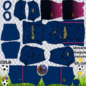 Barcelona kit dls 2022 third