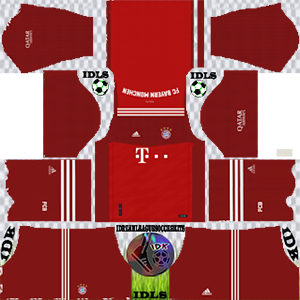 Bayern Munich kit 2022 em casa