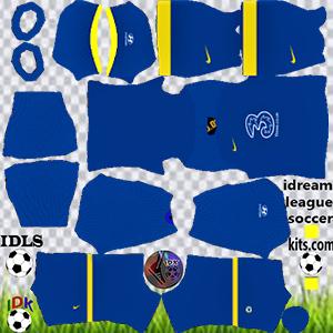 Chelsea kit dls 2022 gk away